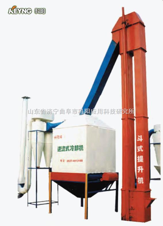 """山东""""科阳""""牌有机肥生产线肥料制粒机对辊造粒机鸡粪烘干机"""