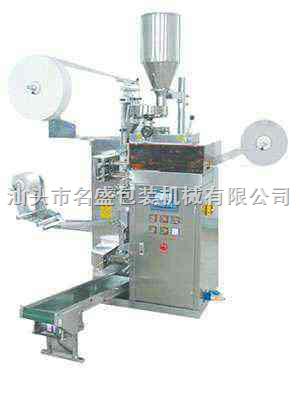 供应袋泡茶包装机,汕头市袋泡茶挂标挂线包装机
