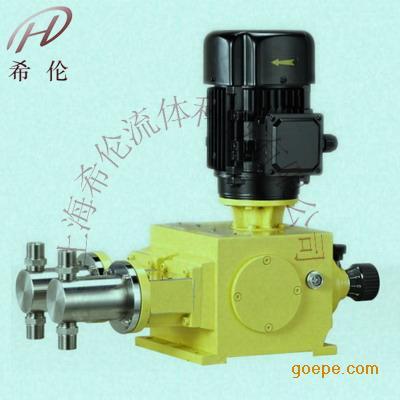 2J-X型号-机械柱塞式计量泵